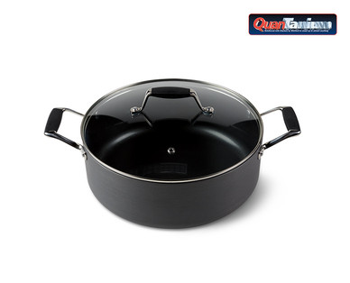 Crofton's Chef Collection Hard Anodized 4.5-Quart Dutch Oven View 2