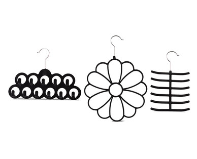 Easy Home 3-Pack Accessory Hangers View 3