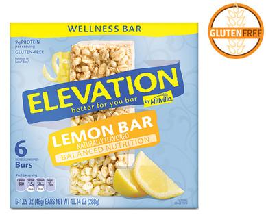 Elevation Lemon Zest Wellness Bars