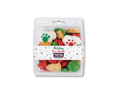 Heart to Tail Mini Frosted Holiday Dog Treats View 1