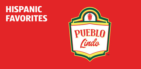 Hispanic favorites. Click to learn more about PUEBLO Lindo.