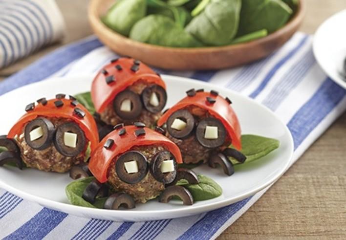 Meatball Lady Bugs