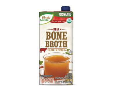Simply Nature Organic Beef Bone Broth