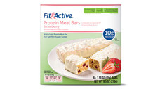 Fit and Active Strawberry Protein Meal Bars