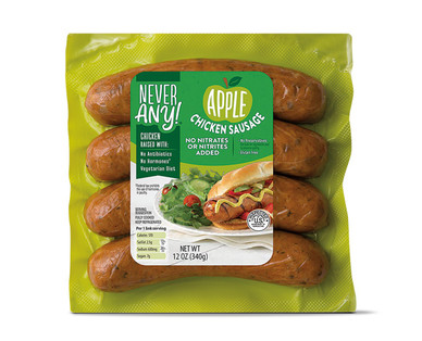 Never Any! Apple Chicken Sausage