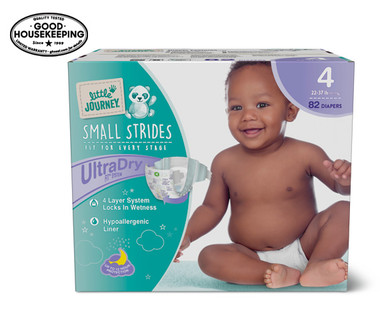 Little Journey Size 4 Club Pack Diapers