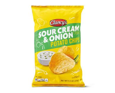 Clancy's Sour Cream & Onion Potato Chips