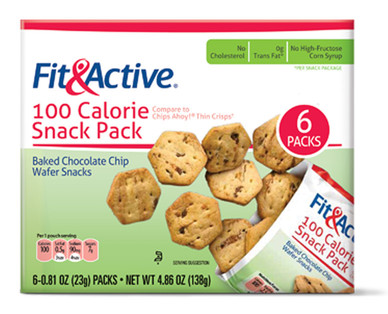 Fit and Active 100 Calorie Chocolate Chip Snack Pack