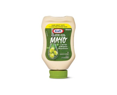 Kraft Squeeze Olive Oil Mayonnaise View 1