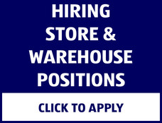 Hiring store and warehouse positions. Click to apply.