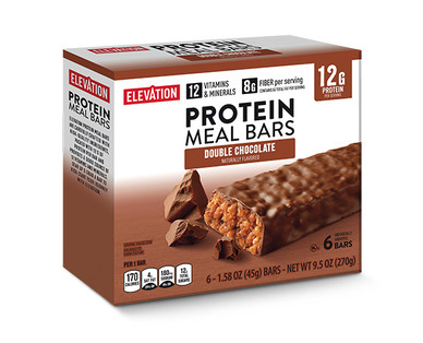 Elevation by Millville Double Chocolate Protein Meal Bars
