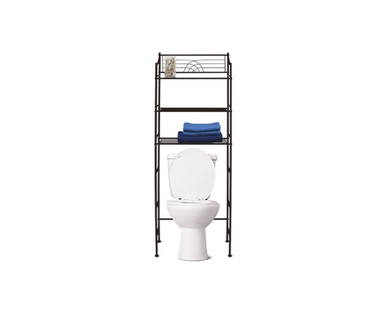 SOHL Furniture 3-Shelf Bathroom Space Saver View 2