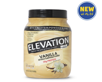 Elevation by Millville Vanilla Protein Powder