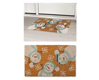 Merry Moments Holiday Coir Mat View 2
