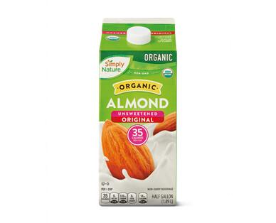 Simply Nature Unsweetened Almondmilk