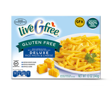 liveGfree Gluten Free Deluxe Macaroni & Cheese