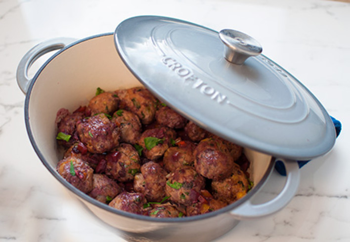 Showstopper Meatballs
