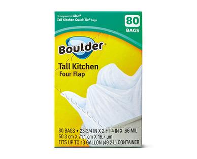 Boulder Four-Flap Tall Kitchen Bags