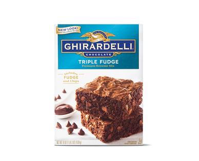 Ghirardelli Triple Fudge Brownie Mix View 1