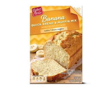 Baker's Corner Banana Quick Bread & Muffin Mix