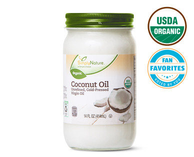 SimplyNature Organic Coconut Oil