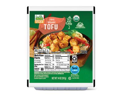 Earth Grown Firm Organic Tofu
