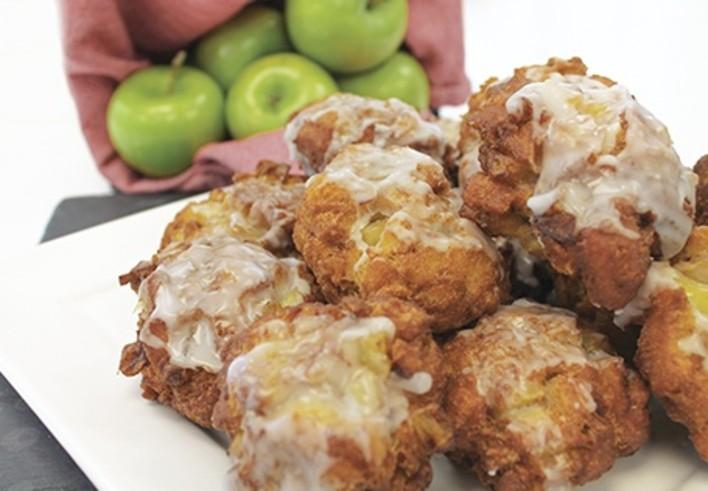 Effortless Apple Fritters