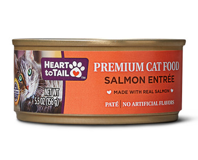 Heart to Tail Salmon Canned Cat Food