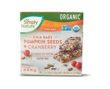 Simply Nature Organic Chia Seed Bars View 2