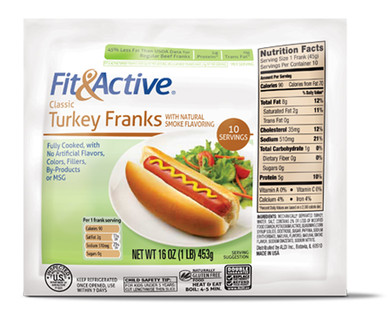 Fit and Active Turkey Franks