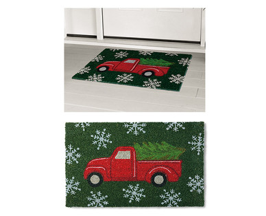 Merry Moments Holiday Coir Mat View 4