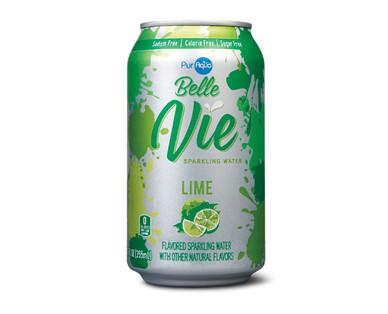 PurAqua BelleVie Sparkling Water - Lime