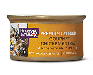 Heart to Tail Chicken Cat Food
