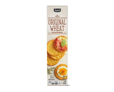 Savoritz Wheat Entertainment Crackers