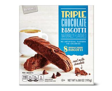 Benton's Triple Chocolate Biscotti