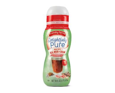 Friendly Farms Delightfully Pure Peppermint Mocha Coffee Creamer