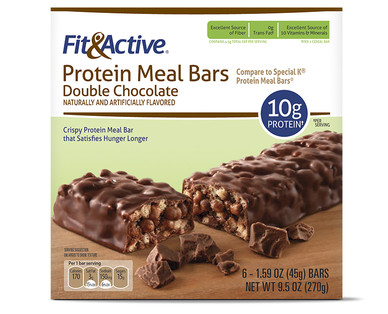 Fit and Active Double Chocolate Protein Meal Bars