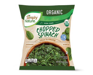 Simply Nature Organic Chopped Spinach