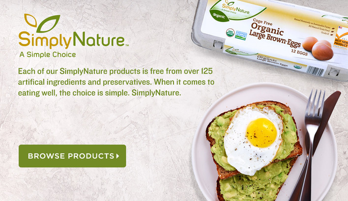 SimplyNature, Products Free From Artificial Ingredients and Preservatives