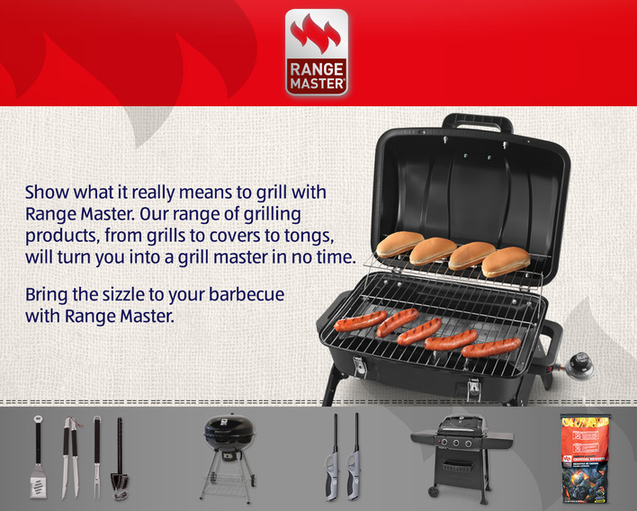Range Master Grilling Products