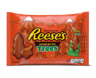 Hershey's Reese's Peanut Butter Christmas Trees