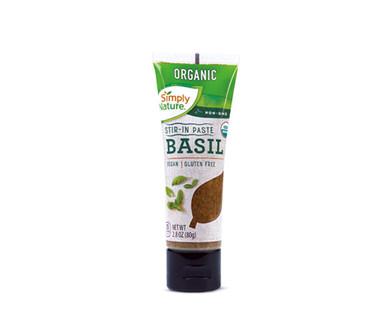 Simply Nature Organic Stir in Paste Basil