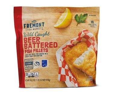 Fremont Fish Market Beer Battered Fish Fillets