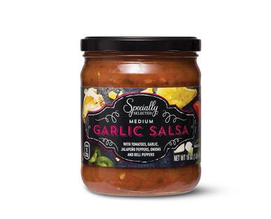 Specially Selected Garlic Salsa