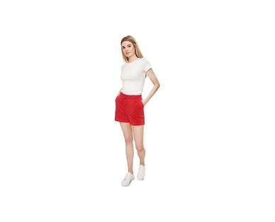 Serra Ladies Knit Shorts View 1
