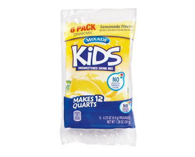 Mixade 6ct Kids Drink Lemonade Mix Packets