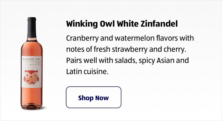 Winking Owl White Zinfandel. Shop Now
