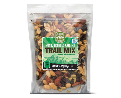 Southern Grove Trail Mix Nuts, Seeds, & Raisins