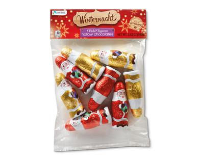 Winternacht Hollow Chocolate Santas