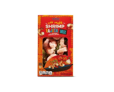 Fremont Fish Market Shrimp Fajita or Shrimp Taco Mix View 1